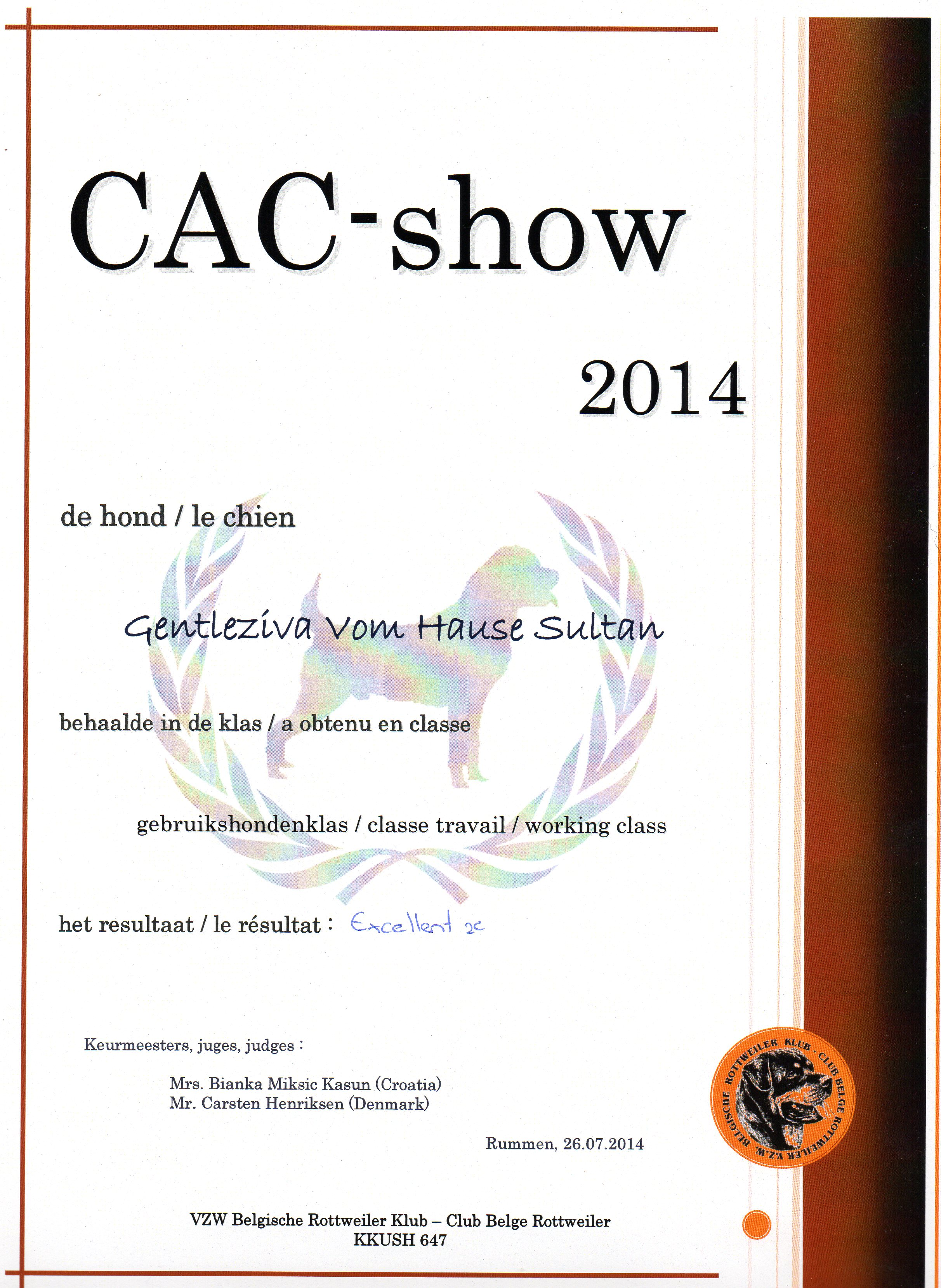BRk cac-show